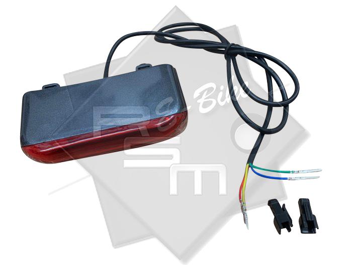 LED Rücklicht mit Bremslicht für alle Modelle Mobilist Klappfahrrad *SCHWARZ*