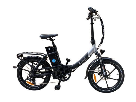"Hochwertiges RSM Elektro Klappfahrrad Mobilist 20"" E- Bike Pedelec mit TÜV Zertifikat Schwarz POWER BOOSTER 48V 15,6AH"