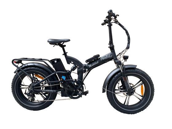 Hochwertiges RSM Elektro Klappfahrrad Mobilist Fun Bike Pedelec Farbe schwarz (48V/15,6AH)