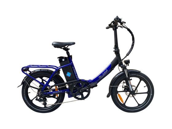 "Hochwertiges RSM Elektro Klappfahrrad Mobilist 20"" E- Bike Pedelec mit TÜV Zertifikat Sondermodell Blue POWER BOOSTER (48V 15,6AH)"